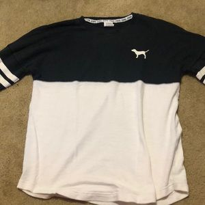 Black and white victoria secret long sleeve